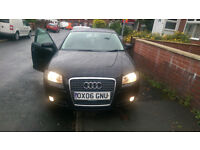 AUDI A3 1.9 TDI, BLACK, SPORTS BACK FOR SALE