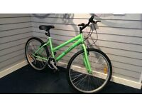 Brand New Mountain Bike Ladies silver Red Green STUDENT BIKE