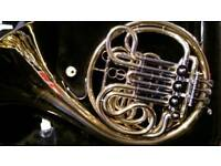 Full double jupiter french horn