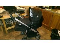 Hauck All in One Travel System - Pram, Pushchair, Carry Cot, Car Seat