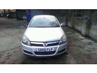 2005 MK5 VAUXHALL ASTRA BREEZE 1.4 PETROL SILVER BREAKING FOR PARTS