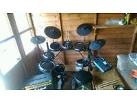 Alesis dm10 electronic drums and plenty accessories