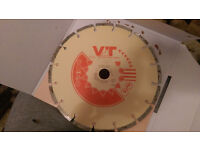 VJT DIAMOND BLADE,CONCRETE, FOR BIG GRINDER,NEW