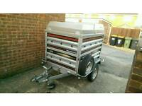Daxara 158 Trailer + extended sides + ABS lid