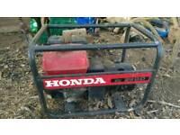 Honda generator ec2200