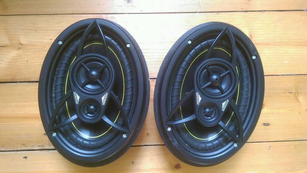 Kicker 6x9s DS6930 car speakers