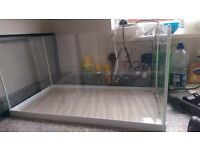 Fish tank, 60 litres perfect condition