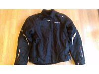 Scero Air+ Textile Jacket, Spada Textile Trousers & Gloves, Richa waterproof boots & Ladies MT Lid