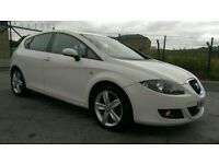 2008 SEAT LEON 1.9 TDI STYLANCE, 5 DOORS HATCHBACK, WHITE, HPI CLEAR, GOOD CONDITION, ECONOMICAL.