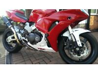 VFR800 non VTEC 1998 very special road track twin sided swinging arm conversion