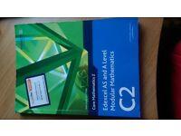 Edexcel C2 Modular Mathematics textbook AS / A level