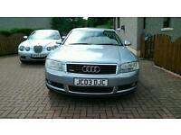 Audi A8 Quattro 4.2 V8 auto