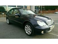 2005 55 REG MERCEDES C200 CDI, ELEGANCE SE AUTOMATIC, TURBO DIESEL, HPI CLEAR, FSH, DOCTOR OWNED.