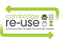 Volunteer Receptionist - Cambridge Re-Use