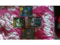 4 harry potter dvds collectirs edition 2 brand new