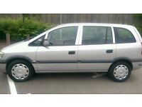 Vauxhall Zafira Life 2.0 Diesel, Silver, 2004, Manual, HPI Clear, MOT, PX Welcome