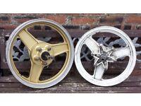 Honda VFR750 V4 - Front & Rear Wheels