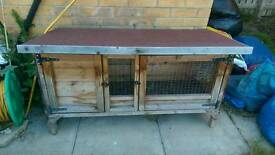 Rabbit hutch, fox proof, water proof