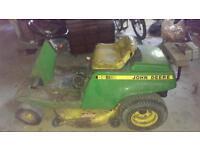 John Deere ride on mower spares or repair