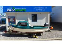 15' ORKNEY LONGLINER STYLE DAY FISHING BOAT