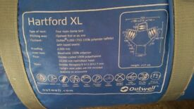 Outwell Hartford XL Dome Tent 4 pod. 8 people.