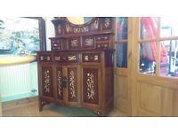 A dresser suitable for dining room, lounge or bedroom.
