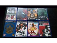 PS2 games lot good condition