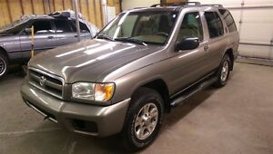 2003 NISSAN PATHFINDER CHILKOOT 4X4, MINT CONDITION!! NO RUST!!!