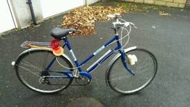Vintage BSA ladies bicycle.