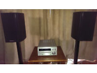 Denon RCD M39 DAB Stereo and Wharfedale diamond 9.1 speakers