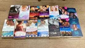 Bundle of mills and boon romance books mostly 3-in-1's