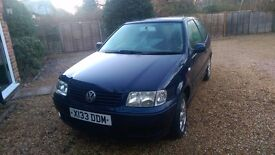 VW Polo Match Hatchback 2001 £350 ONO