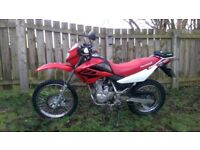 Honda xr 125 2006 model 12 month MOT