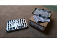 Faderfox DJ44 midi controller for Traktor/ableton. Solid portable and slick!