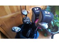 Golf Clubs, Wilson Deep Red Right Handed - Junior Flex + Really Good Bag in Great Condition