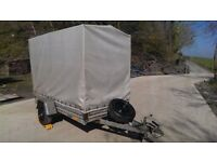 Box Trailer Camping Animal Farm Sheep Car 750kg Forestry Smallholding Pig braked ifor williams