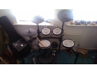 Roland TD25K Electronic Drum Kit /w Mapex Throne, Mapex Kick Pedal and Yamaha Hi-hat Stand