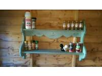 Vintage plate stand / Spice rack