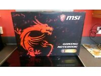 MSI Gaming laptop 17.3inch 1080p I7 7700 16g DDR4 GTX1050Ti 1 tb Hybrid Hdd High End Gaming Laptop