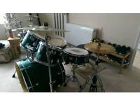 Mapex Drum Kit with cymbals, stool & sticks!!