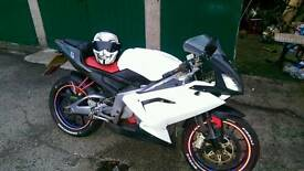 Aprilia Rs 125 full power (offroad bike swap)