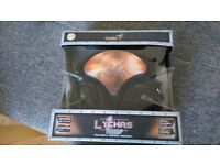 NEW Genius GX Gaming Lychas Foldable Gaming Headset HS-G550 inc Mic