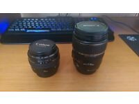 Canon DSLR Lenses for sale. Canon EF 50 mm-f/1.4 USM and Canon EF-S 17-85mm f/4-5.6 IS USM