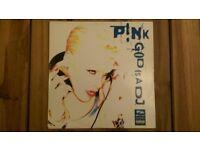 Pink 'God Is A DJ' 12 inch Vinyl Single