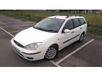 2001 Ford Focus 1.8 TDi Estate - 1 YEARS M.O.T - WHITE