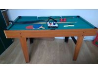 3 in 1 games table - snooker, table tennis