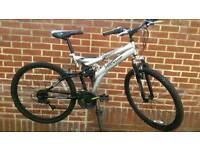 "Dunlop Dual Suspension 26"" Wheels Bike"