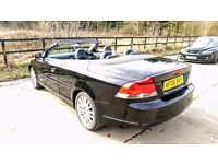 2006 Volvo c70 convertible 2.4i petrol automatic, 87,000 miles done, new mot passed 24/03/2017