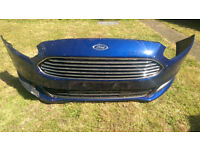 FORD GALAXY 2016 GENUINE FRONT BUMPER WITH FOG LIGHTS AND PARKING SENSORS