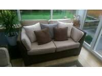 Conservatory/Wicker sofas